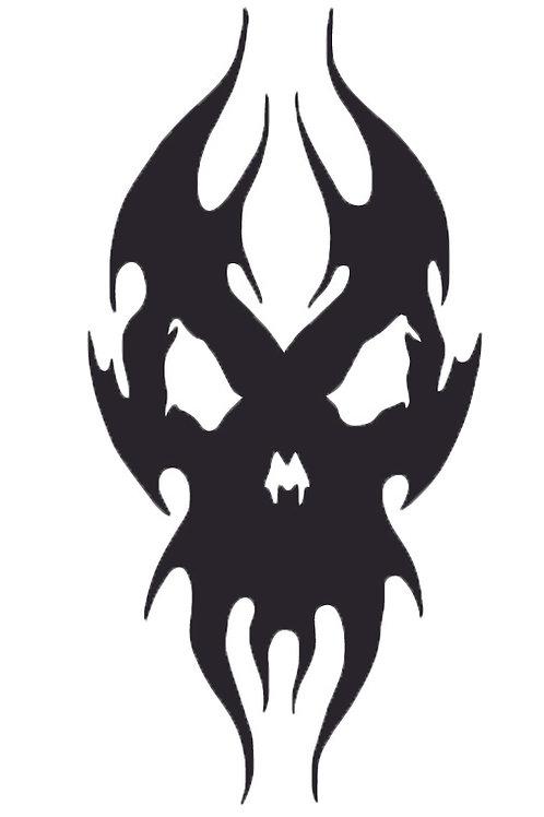 Skull Vinyl Sticker