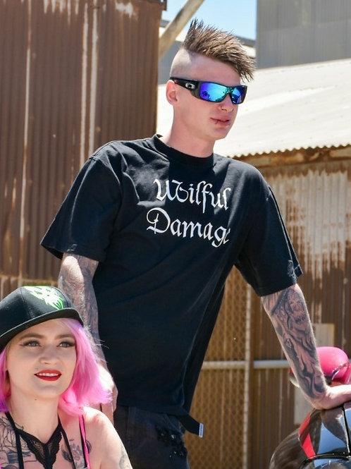 Wilful Damage Large Print T-Shirt
