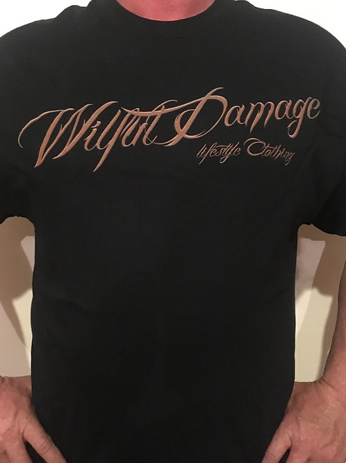 Wilful Damage Script T-Shirt