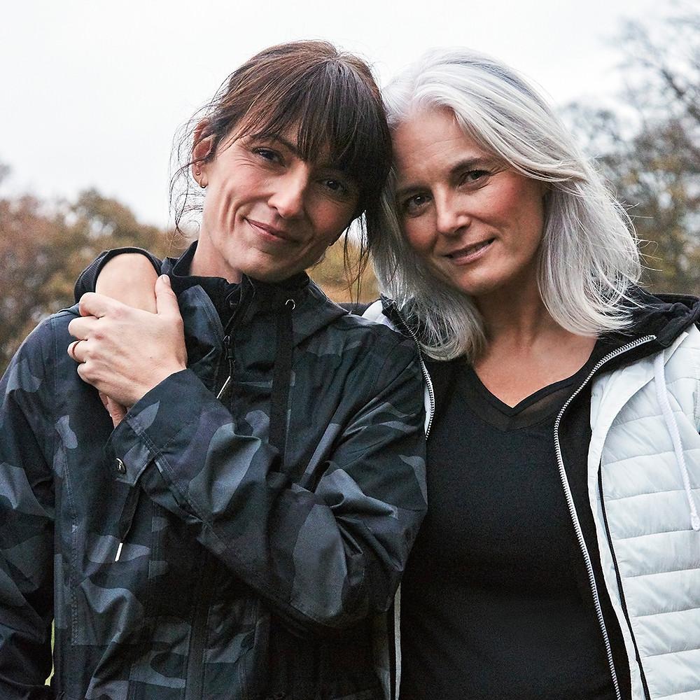 Davina McCall withl Rachel Peru~FFactive