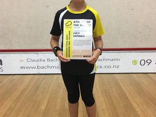 2019 January Athlete of the Month - Lucy Aspinall
