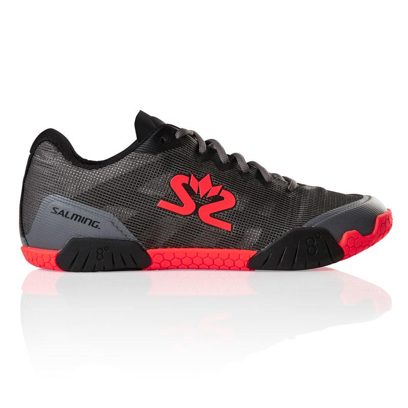 Salming Mens Black Hawk Squash Shoes NZ.