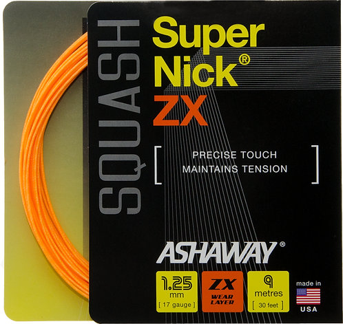 Ashaway SuperNick ZX Squash String NZ