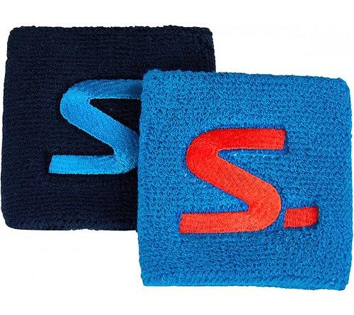 Salming Squash Blue Wristband