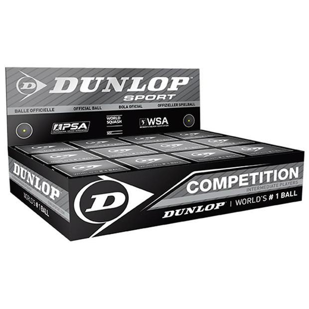 Dunlop Single Yellow Dot Squash Balls