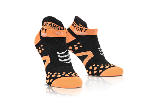 Compressport Racket Double Layer Strapped Low Cut Sock