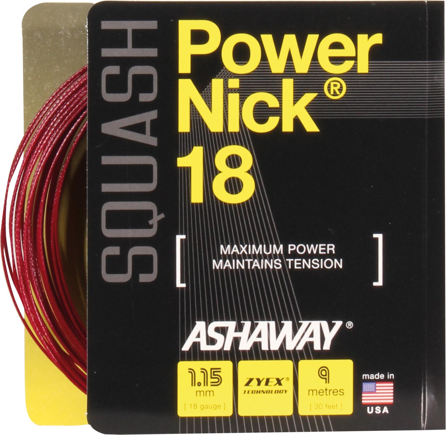 Ashaway PowerNick 18 Squash String NZ