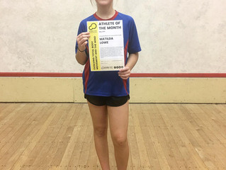 2019 May Athlete of the Month - Matilda Lowe
