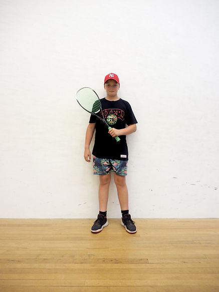 NZ Squash Player