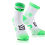 Thumbnail: Compressport Racket Double Layer Strapped Sock White