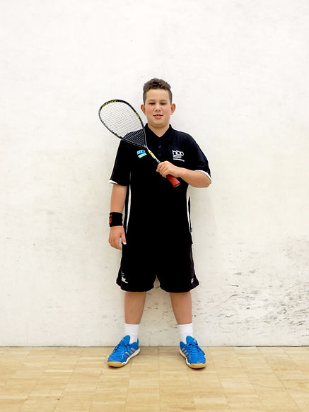 Double Dot Squash Athlete