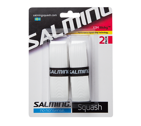 Salming X3M Sticky™ 2-Pack Grips White