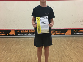 2019 April Athlete of the Month - Aidan Gregory