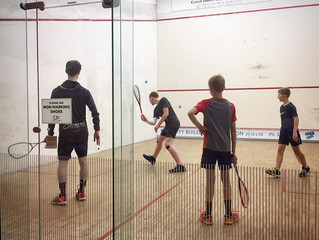 Double Dot Squash Academy Launches at Herne Bay