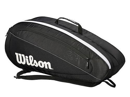 Wilson Federer Team 6 Racquet Bag Tennis NZ