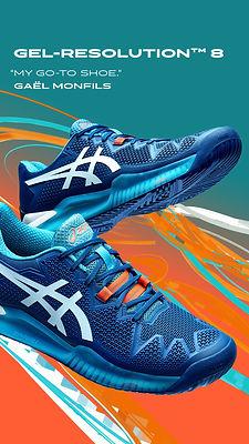 ASICS Gel Resolution 8 Tennis Shoes NZ