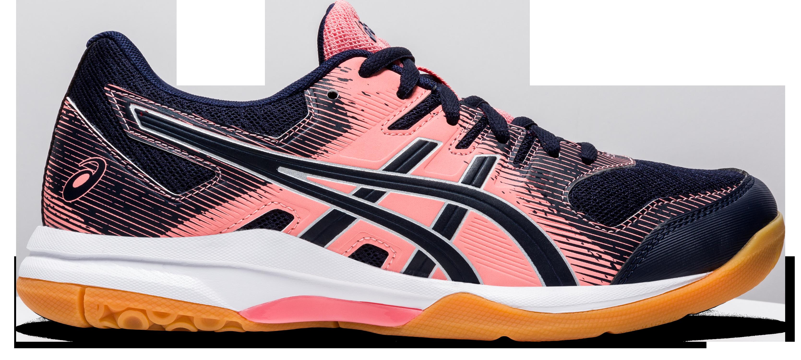 Asics Gel Rocket 9 Womens Pink Squash Sh