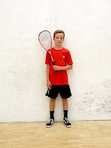 Double Dot Squash Athlete