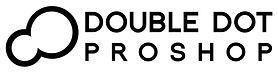 Double Dot Pro Shop Horizontal Logo BW.jpg