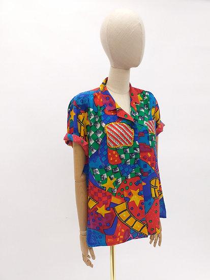 90s Silk Blouse