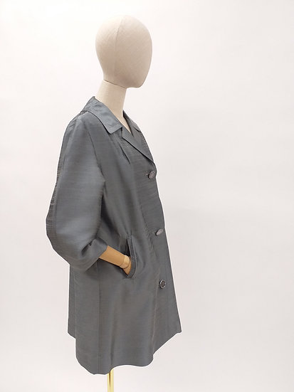 60s Iridescent Duster Jacket