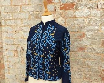 80s Blue Jacket
