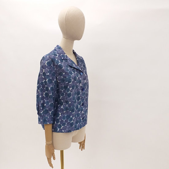 50's Abstract Print Jacket