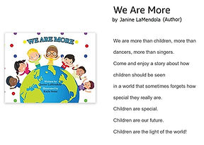 We Are More ♥ ♫ ♥ ♫ ♥