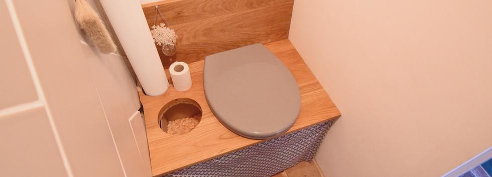 Toilettes sèches privatives