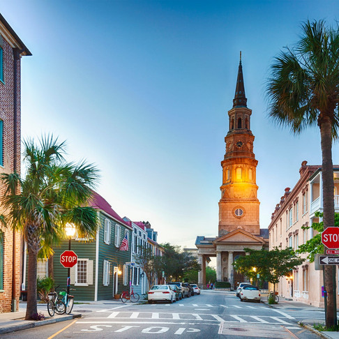 At a Glimpse: Charleston, South Carolina