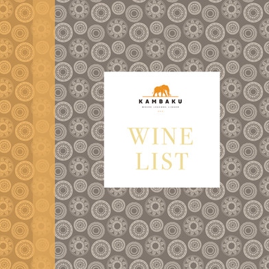 Menu and winelist