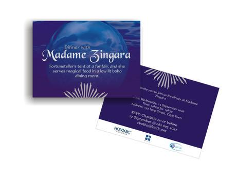 Invitation for a corporate event