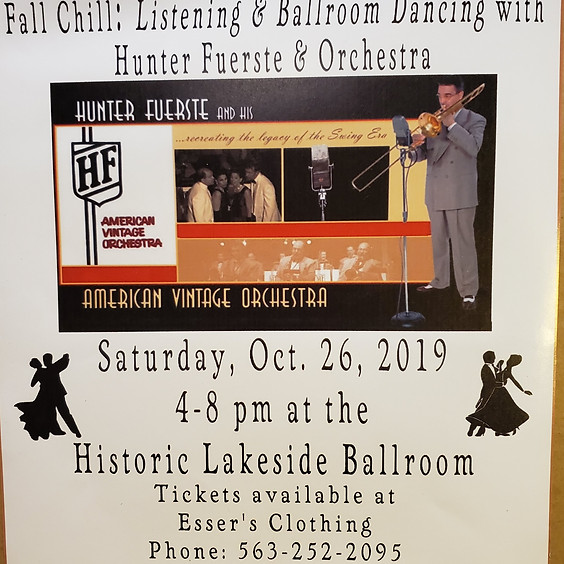 Ballroom Dancing with Hunter Fuerste & Orchestra