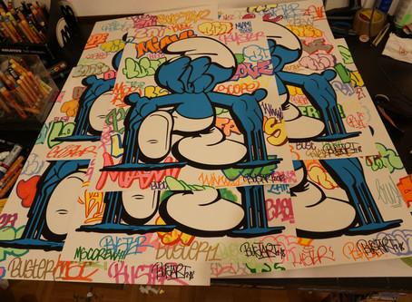 Smurfface silcprint