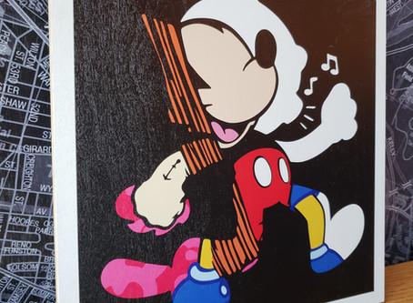 Felix Icon print on wood Release during Art Week Miami