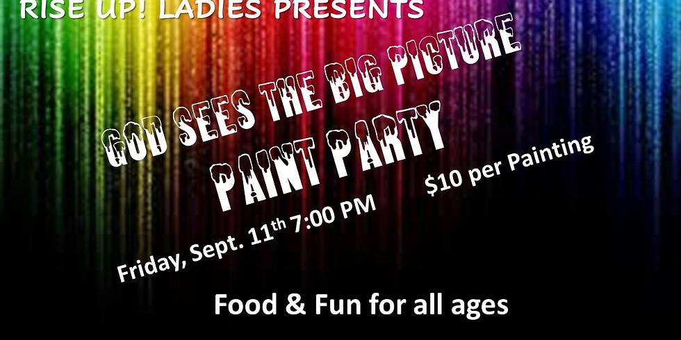 Rise up Ladies Paint Party