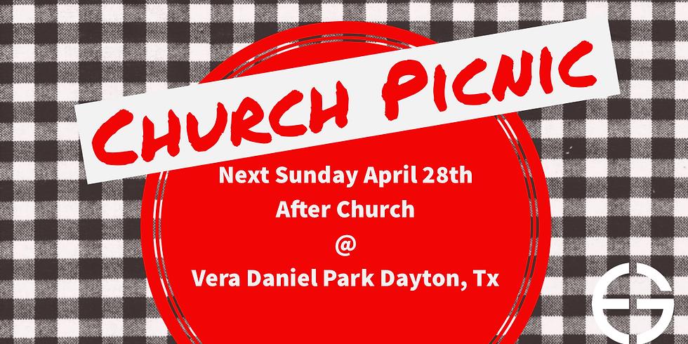 Annual Spring Church Picnic