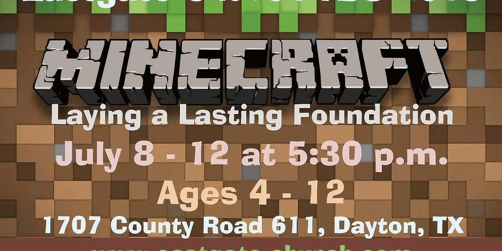 VBS Minecraft Ages 4-12