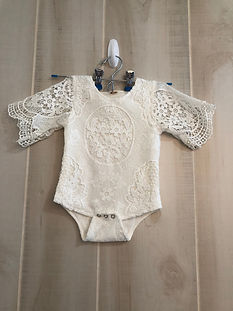 white lace one piece 9 months to 18 mont