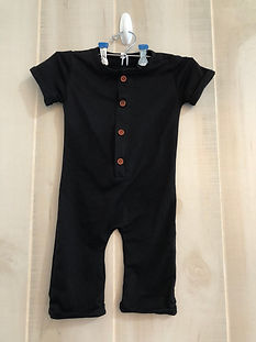 black one piece outfit size 6 months to