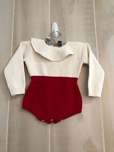 red and white romper outfit girls size 9