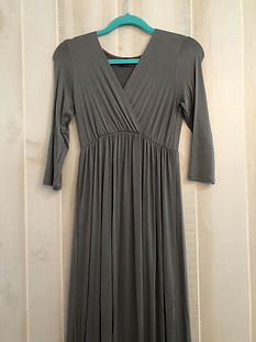 army green womens medium dress