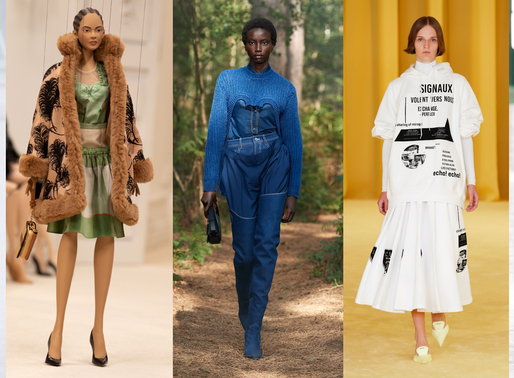 The Runway Roundup - Trend Report from the SS21 Fashion Shows