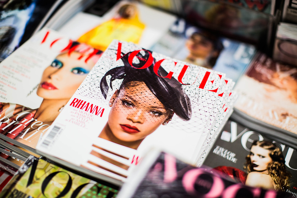 Popstar Rihanna on the cover of VOGUE Paris