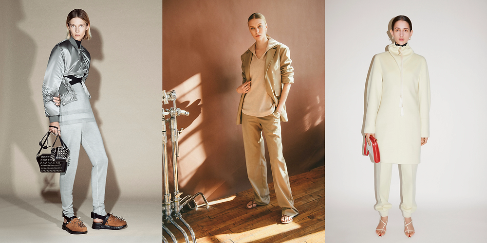 Three super cool, and super comfortable looks from Givenchy, Deveaux, Jil Sander