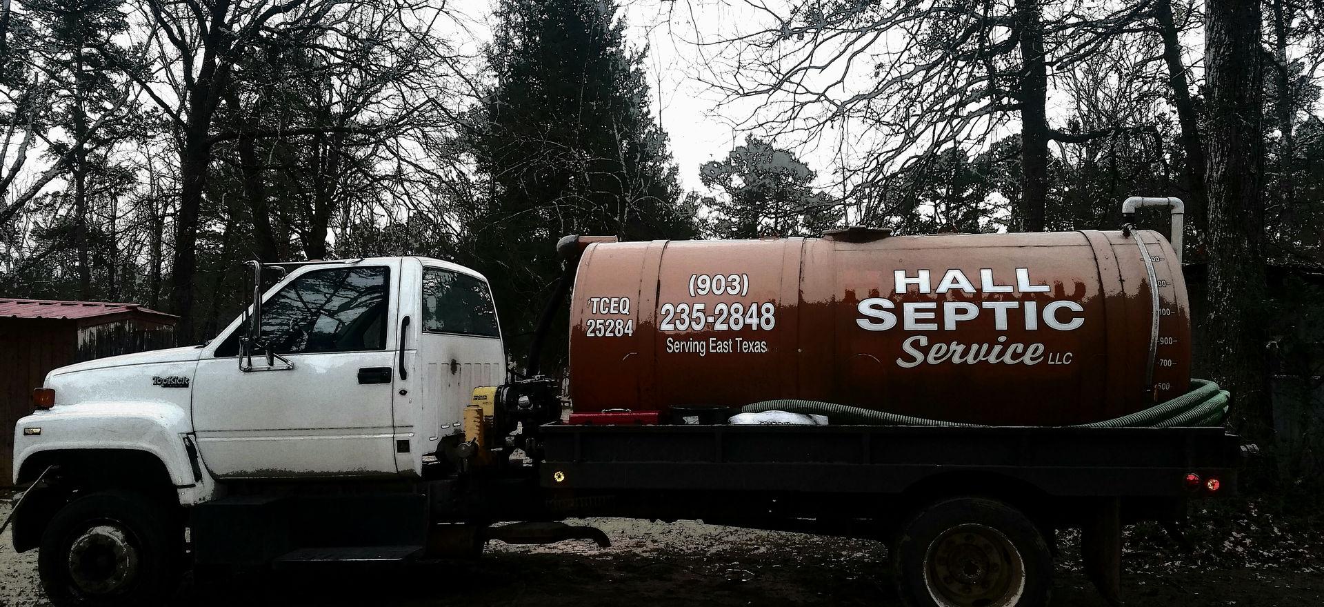 Hall Septic Pump Truck