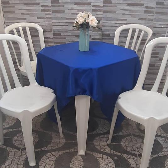 Toalha de Mesa Azul Royal