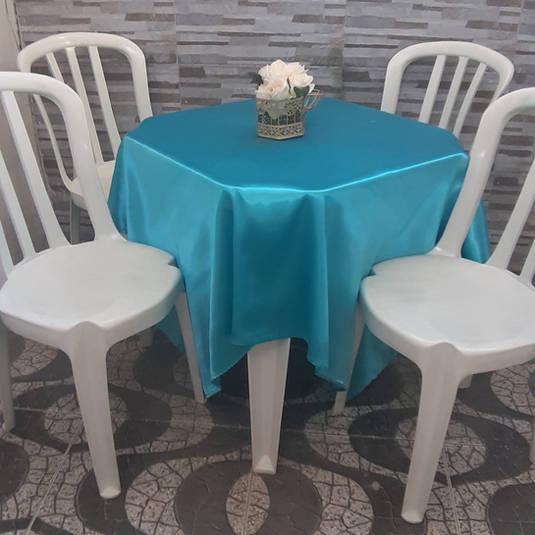 Toalha de Mesa Azul Claro