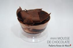 50. mini mousse chocolate