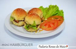23. mini hamburguer